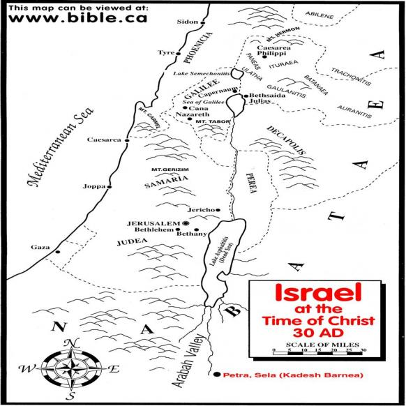 Israel Time Of Christ